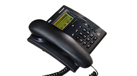 The cordless DECT digital desk phone allows for the simple expansion of DECT base systems.