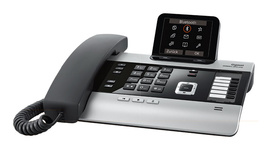 desk phone with cordless expandability via DECT