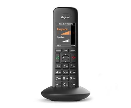 Gigaset C570HX with new phone number