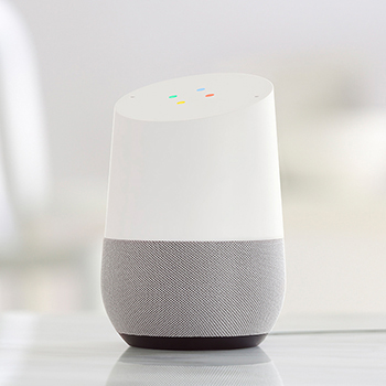 Google Assistant voice control