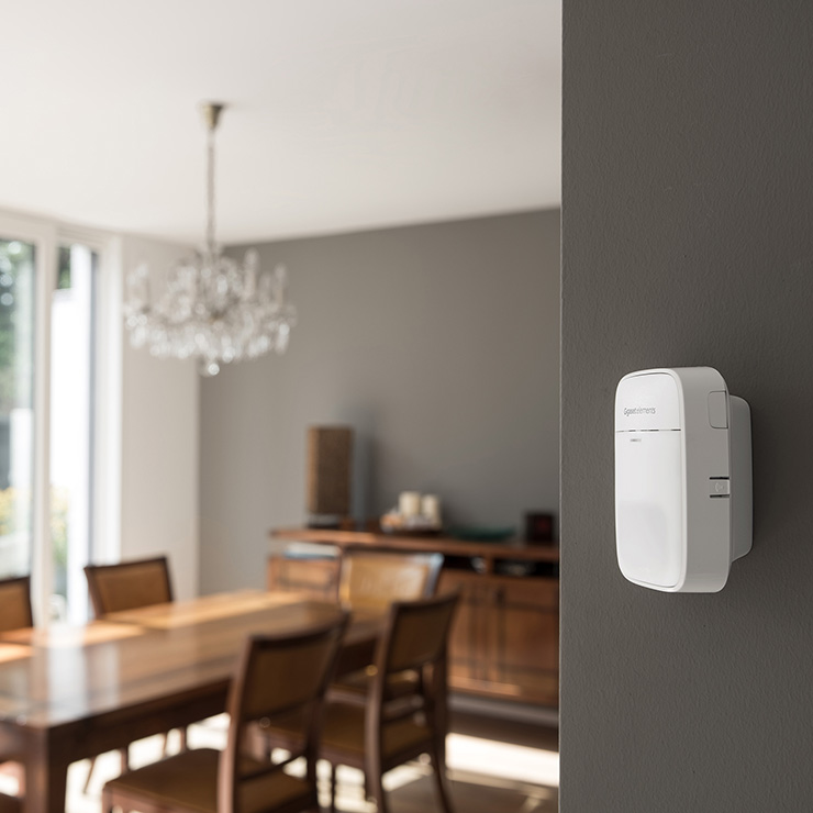 With intelligent sensors for a safe Smart Home